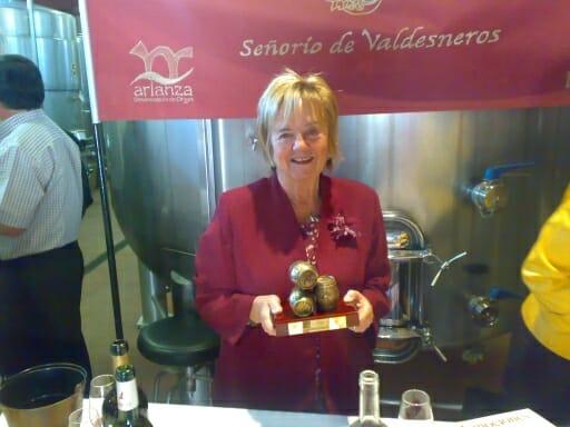 Premio Bocoy SV 2008 a María Isabel Mijares