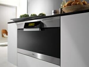 Detalle de un horno moderno