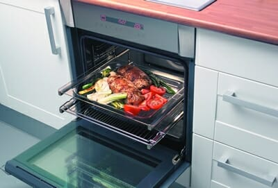 Plato preparado en el horno
