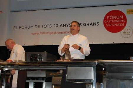 """Décimo Fòrum Gastronòmic Girona 2009: gastronomía de """"andar por casa"""""""