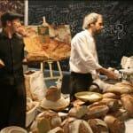 El pan tambien esta presente en Barcelona Degusta, con una inmensidad de variedades y gran exito entre el público