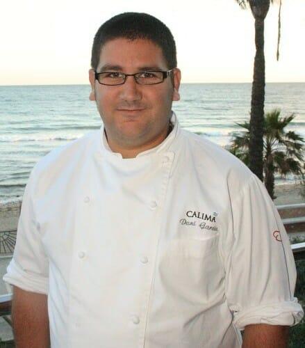 Dani García, en la terraza de su restaurante Calima