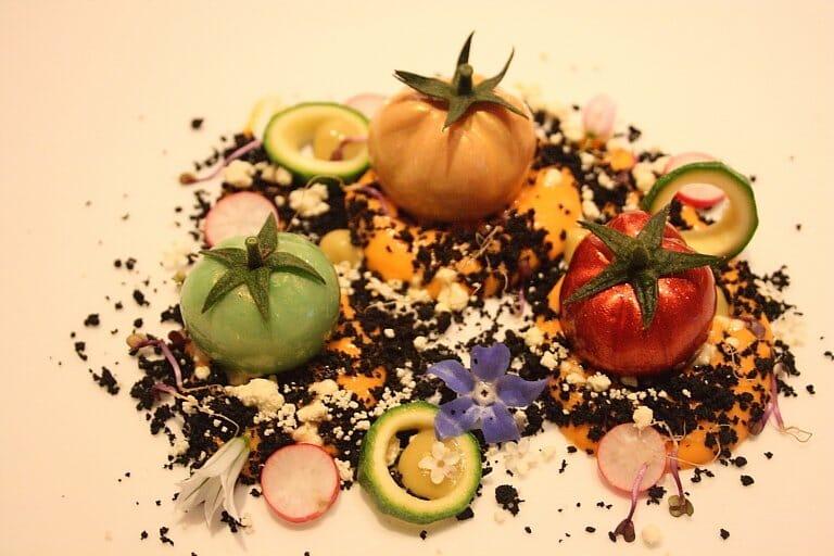 Los tomates nitro de Dani García se podrán degustar también en Manhattan