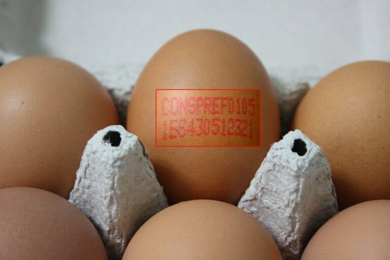 Es importante conocer el significado del código impreso en cada huevo