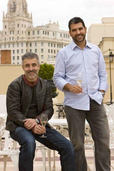 Paco Roncero y Sergi Arola