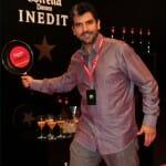 Paco Roncero en el Estrella Damn Lounge de Madrid