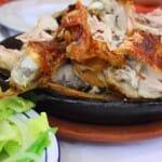 El Lechazo asado, plato rey de las Jornadas de Aranda de Duero