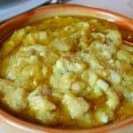 Delicioso Atascaburras el que pudimos degustar en Bodegas Aresán