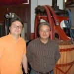 Jesús y Goyo Sánchez Mateos han recuperado la profesión de sus abuelos y elaboran vinos ecológicos certificados