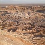 En el desierto de Atacama la tierra muestra sus caprichosas formas