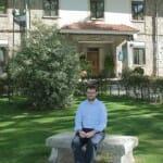 Ernesto Agudiez, director de la Hospedería La Serrana