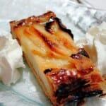 Espectacular tarta de manzana casera