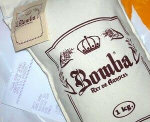 Arroz Bomba, de grano medio, ideal para paellas (c) edans