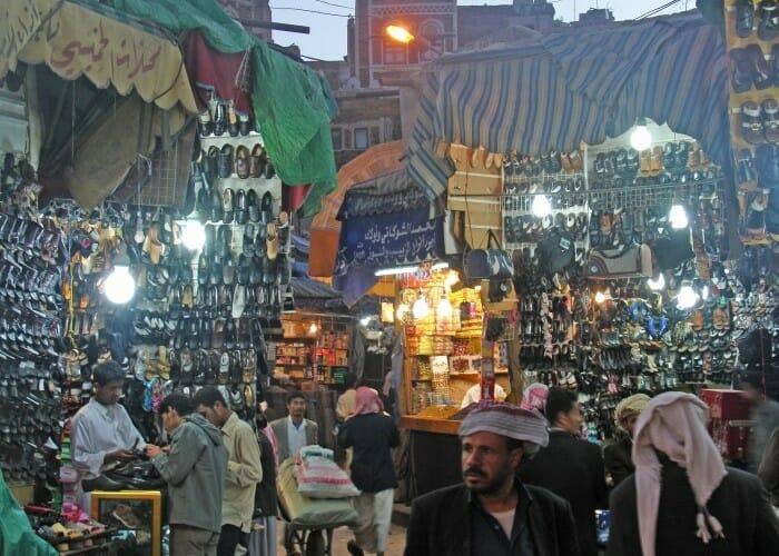 Los zocos milenarios de Yemen, comercio y tradición