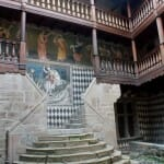 Interior del Castillo de Fénis
