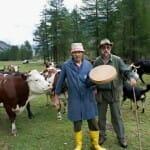 En la Azienda agricola Praa su Piaz di jeantet Bruno Valnontey Congne, toda la familia está implicada en la producción de quesos Fontina