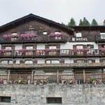 Fachada del Hotel La Madonnina, más que recomendable opción para la estancia en Cogne