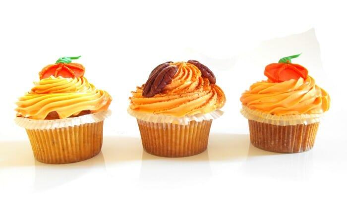 Cupcakes, pastelitos de Halloween