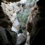 Entrada del río a la cueva de Sorbas