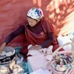 El pan se toma recién hecho en las comidas tunecinas