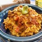 El couscous tunecino es el único del Magreb que lleva tomate