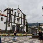 Praça do Municipio, en el centro de Funchal