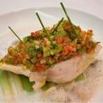 El restaurante The Vine cuenta en su carta con interesantes platos de pescado