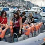 Una de las actividades más solicitadas es el avistamiento de delfines