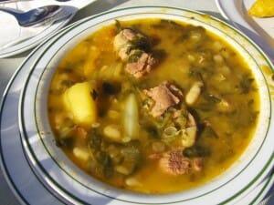 Potaje canario, un plato clásico de la gastronomía de Lanzarote