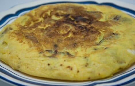 Tortilla de patatas a la española