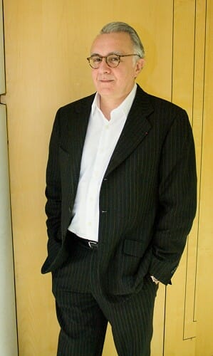 Alain Ducasse posó para conmuchagula.com tras su rueda de prensa