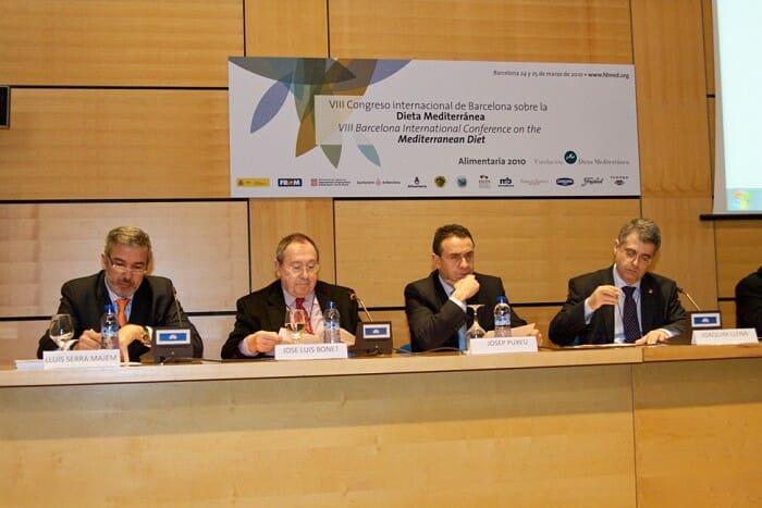 La octava edición del Congreso Internacional de la Dieta Mediterránea tendrá lugar durante los días de hoy y mañana