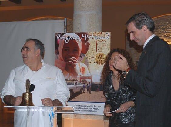 Abraham García, durante la presentación del evento