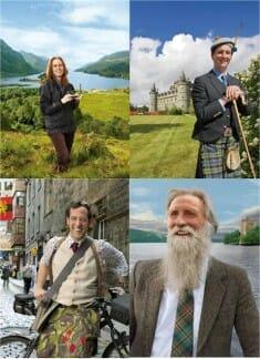 Cada mes, un embajador nos dará razones para conocer Escocia desde dentro
