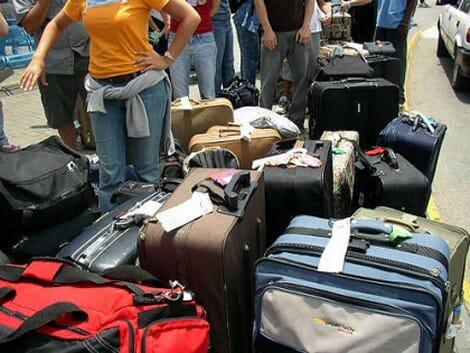 Los problemas con el equipaje puede frustrar nuestras vacaciones