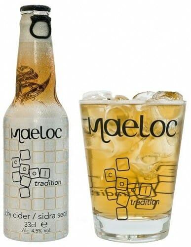 Maeloc, sidra seca diseñada para su consumo con mucho hielo