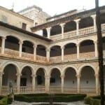 Claustro del Monasterio de San Bartolomé en Lupiana