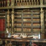 Detalle de la Biblioteca de la Universidad de Coimbra
