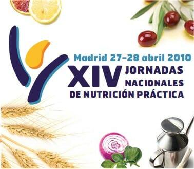 Los días 27 y 28 se celebrarán las XIV Jornadas Nacionales de Nutrición Práctica