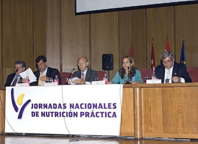 Imagen tomada durante el acto de apertura de las XIV Jornadas Nacionales de Nutrición Práctica