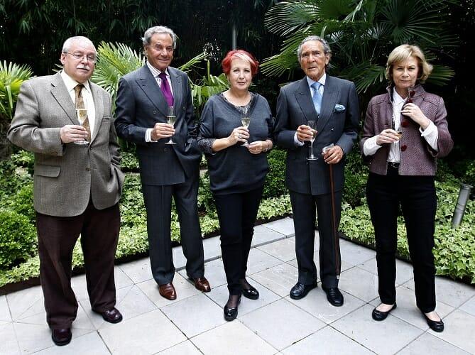 Miembros del jurado del VI Premio Periodístico El Cava