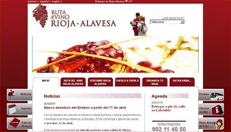 La Rioja Alavesa presenta su nueva web 2.0 desarrollada con las últimas tecnologías