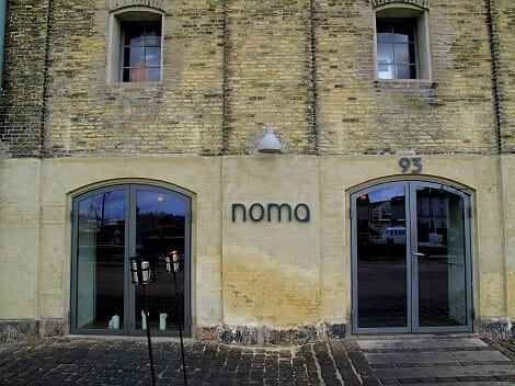 Fachada de Noma, ubicado en Copenhague y mejor restaurante del mundo 2010 según la revista Restaurants