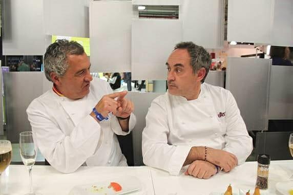 Paco Torreblanca y Ferran Adrià, Doctores Honoris Causa por la Universidad Politécnica de Valencia