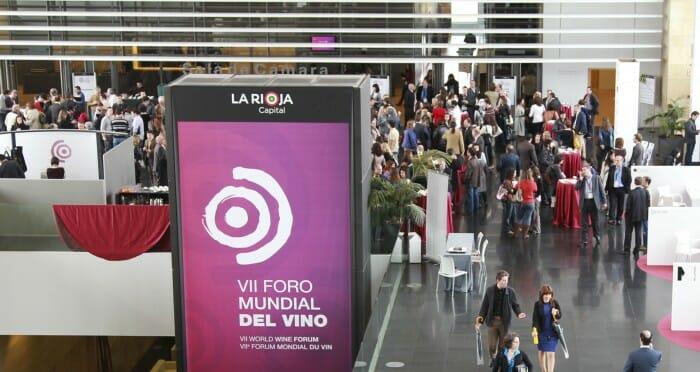 Ambiente en el VI Foro Mundial del Vino