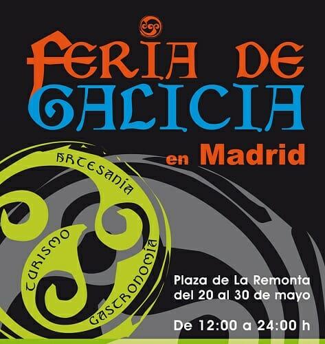 Cartel de Fergal, la Feria de Galicia en Madrid