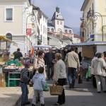Los sábados hay mercado en Gex, con todo tipo de productos artesanales