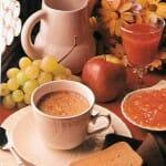 La merienda perfecta: lácteos, cereales y fruta de temporada