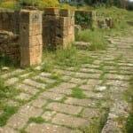 Ruinas romanas en La Chellah