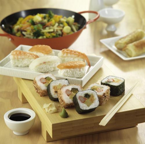 La Sirena ofrece sus sushis a un precio económico y con la posibilidad de prepararlos usando únicamente un microondas